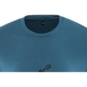 Gonso Basto Fietsshirt Korte Mouwen Heren, majolica blue